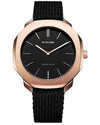 D1 Milano Watch Ur - D1-sspl02 - Geel