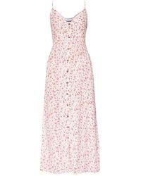 Ganni Floral-printed Dress - Wit