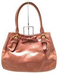 Miu Miu Vintage Handbag - Bruin