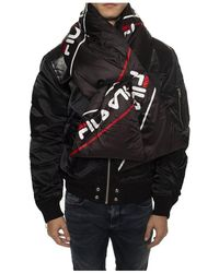 Fila Logo scarf - Noir