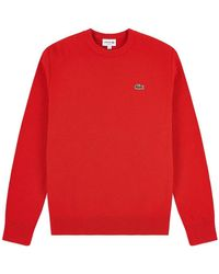 Lacoste Sweater - Rood