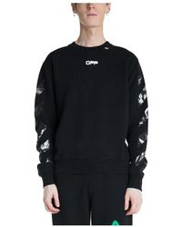 Off-White c/o Virgil Abloh Caravaggio Slim Fit Sweater - Zwart