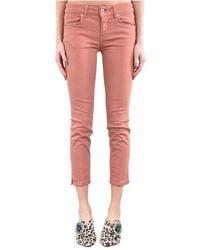Dondup Jeans Skinny Modello Lou - Roze