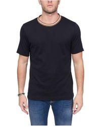 Eleventy T-shirt - Blauw