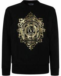 Versace Jeans Couture Felpa - Schwarz