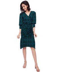 Diane von Furstenberg Caitlion Dress - Groen