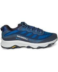 Merrell Moab Speed Gtx Bn 252 Sneakers - Blau