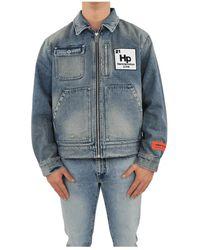 Heron Preston Worker Zip Jacket - Vert