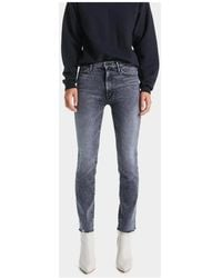 Mother Mom fit jeans - Gris