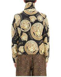 Versace - Amplified medusa jacket Negro - Lyst