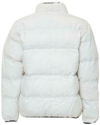 Chinatown Market Puffer Jacket Blanco