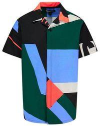 Y-3 - Swim Aop Resort Shortsleeve Shirt - Lyst