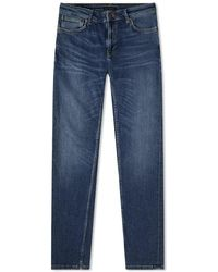 Nudie Jeans Skinny Lin Treasure Jeans - Blu