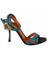 Dolce & Gabbana Sandals Shoes - Blauw
