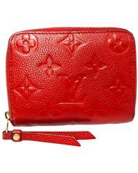 Louis Vuitton Zippy coin purse - Rouge