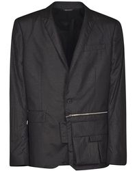Les Hommes Urban Jacket - Zwart