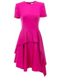 Alexander McQueen Dress 609168qjaac - Roze
