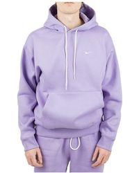 Nike Hoodie - Viola