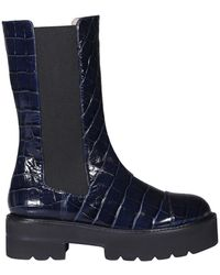 Stuart Weitzman Boots - Blauw