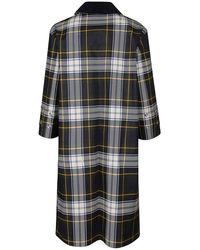 Mackintosh Coat Negro