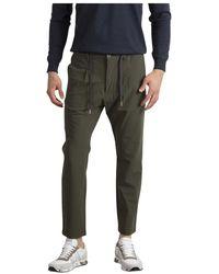 Cruna Pantalone mitte Tecnico - Verde