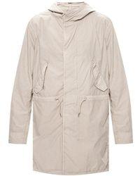 AllSaints Haven rain coat - Gris