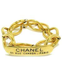 Chanel Vintage Cinturón usado - Amarillo