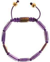Nialaya 925 Bracelet Morado