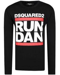 DSquared² Run Dan - Zwart