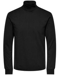 Only & Sons - Blouse Roll-neck - Lyst