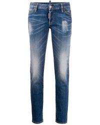 DSquared² Crop Jeans - Blauw
