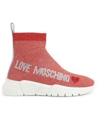 Love Moschino Sneakers Ja15103g1air - Rood