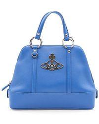 Vivienne Westwood Borsa A Mano Media Jordan - Blauw