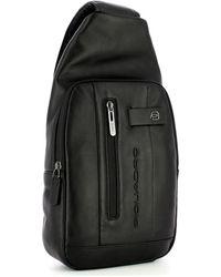 Piquadro Urban shoulder bag - Noir