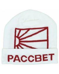 Rassvet (PACCBET) Acrylic Logo Beanie - Wit
