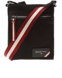 Bally Fincher Shoulder Bag - Zwart