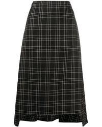 Alexander McQueen Skirt - Zwart