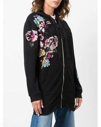 Blugirl Blumarine Full ZIP Sweater Negro