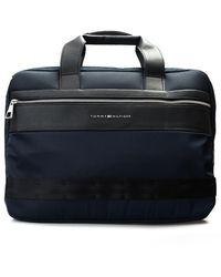 "Tommy Hilfiger Torba ""laptop Bag"" - Blauw"