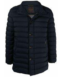 Moorer Coat - Blauw