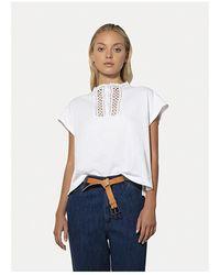 Forte Forte Oversized t-shirt Blanco