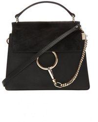 Chloé - Shoulder bag with logo - Lyst