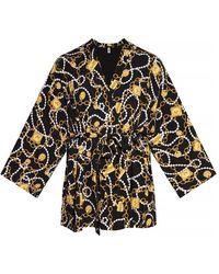 Moschino Cropped bathrobe - Giallo
