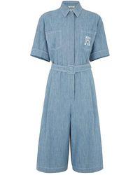 Fendi Playsuit - Blauw