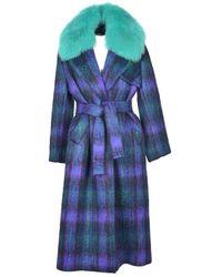 Giada Benincasa Coat - Blauw