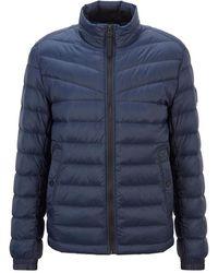 BOSS Orange Jacket - Blauw
