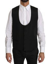 Dolce & Gabbana - Vest vestibilità formale vestibilità regolare - Lyst