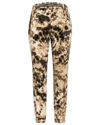 Cambio Pantalones Josephine batik Beige - Neutro