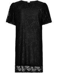 iN FRONT Gina Lace Dress 14116 - Noir