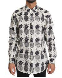 Dolce & Gabbana Cotton Top Shirt - Wit